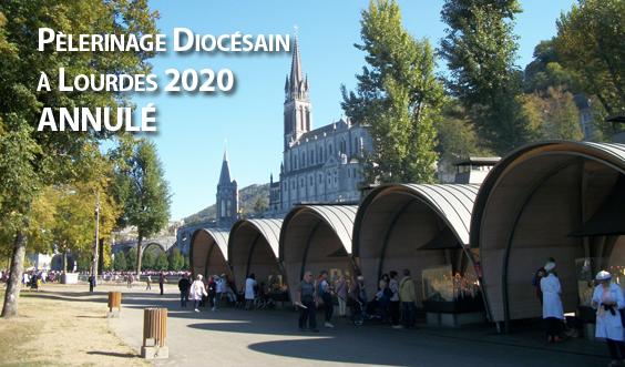 Pèlerinage diocésain à Lourdes 2020 : annulé